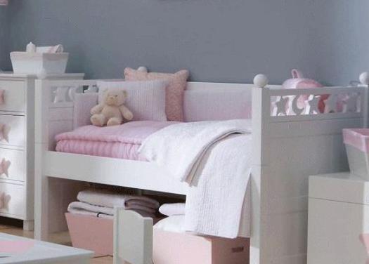 Preciosa cama cuna