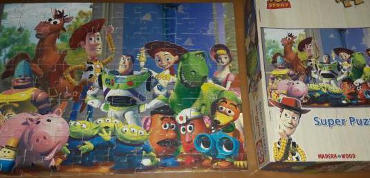 Puzzle madera toy story 100 piezas 6/8 años