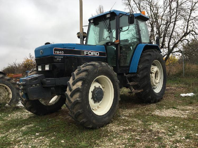 Tractores agrícolas ford 7840 dt teruel