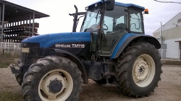 Tractores agrícolas new holland tm115 teruel