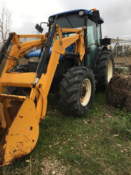 Tractores agrícolas new holland tn75 d teruel
