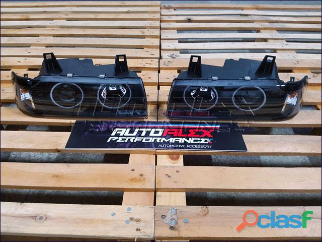 Faros Angel Eyes BMW E36 2