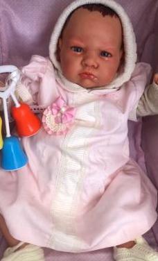 Muñeca bebe reborn vinilo niña k