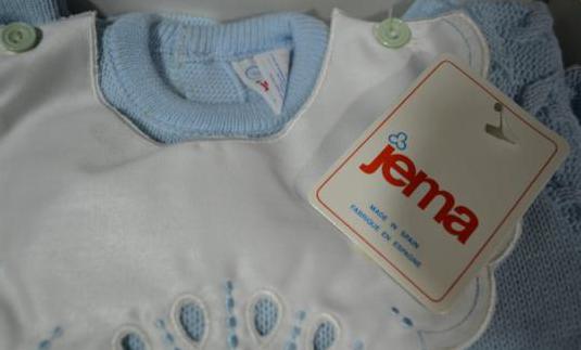 Pelele bebe azul 12 meses