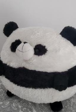 Peluche bola oso panda grande