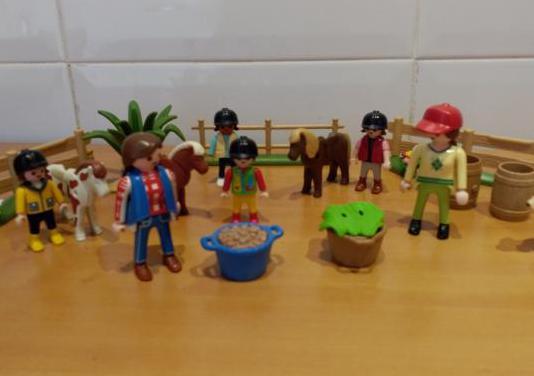 Playmobil set caballos