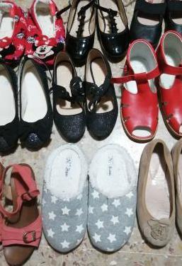 Zapatos talla 32,33 y 34 para niña