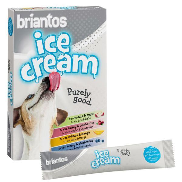 Briantos ice cream helados para perros
