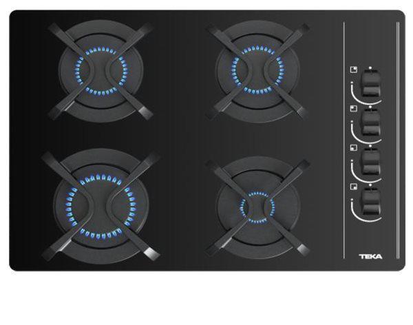 Teka 112580004 - encimera cristalgas gbc 64003 kbb gas