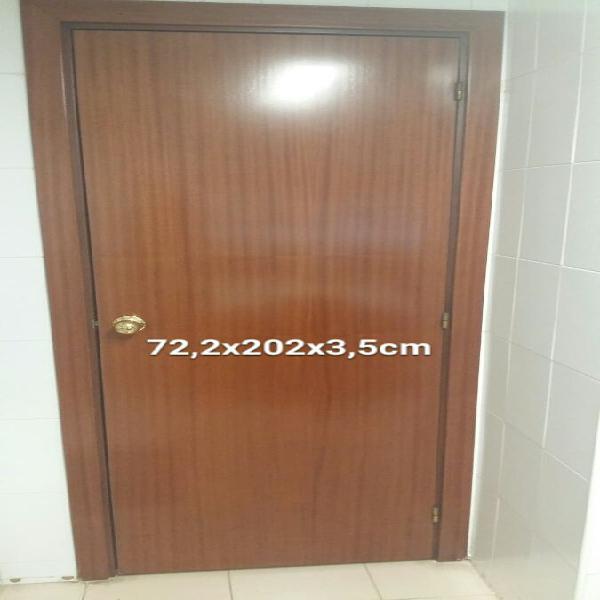 3 puertas ciegas interior color sapelly