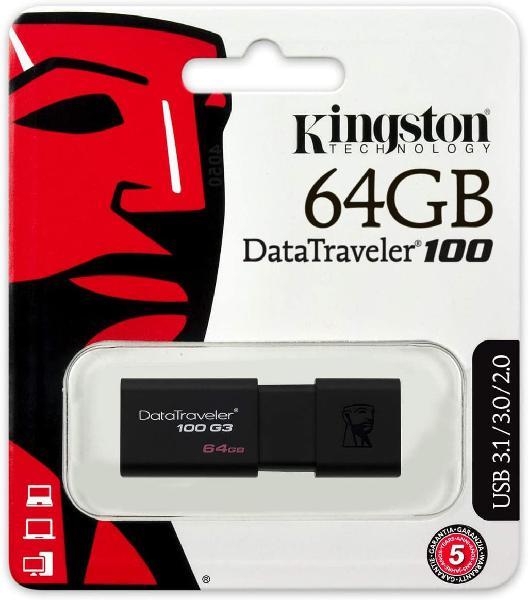 64gb kingston datatraveler usb 3.1