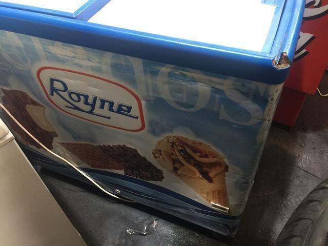 Arcon congelador royne perfecto puesto helados bar