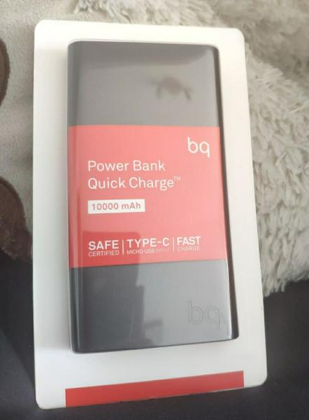 Batería externa (10000) nueva