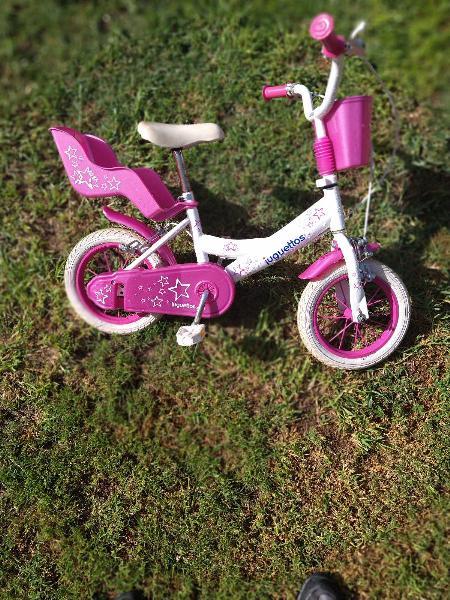 Bicicleta de niña juguettos