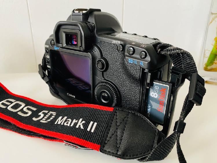 Canon 5d mark ii kit objetivo profesional 24mm