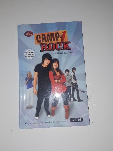 Camp rock libro