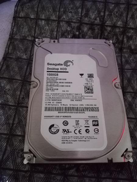 Disco duro hdd seagate 1tb