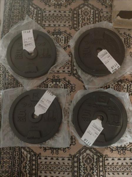 Discos de fundición de 5kg