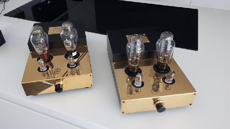 Dos unidades etapas audion 300b stereo triodo 8w