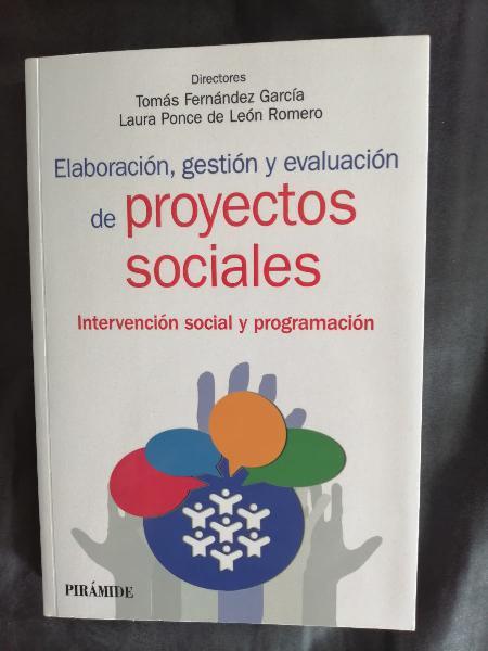 Elaboración, gestión y evaluación de proyectos soc