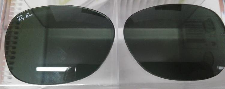 Lentes-cristales ray ban 2132 new wayfarer cal 55