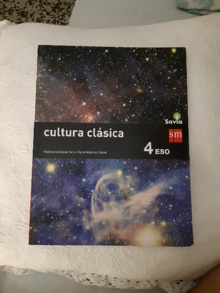 Libro cultura clásica 4°eso