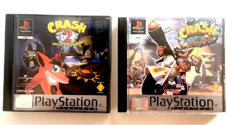 Pack crash bandicoot 2 y 3 ps1 completos