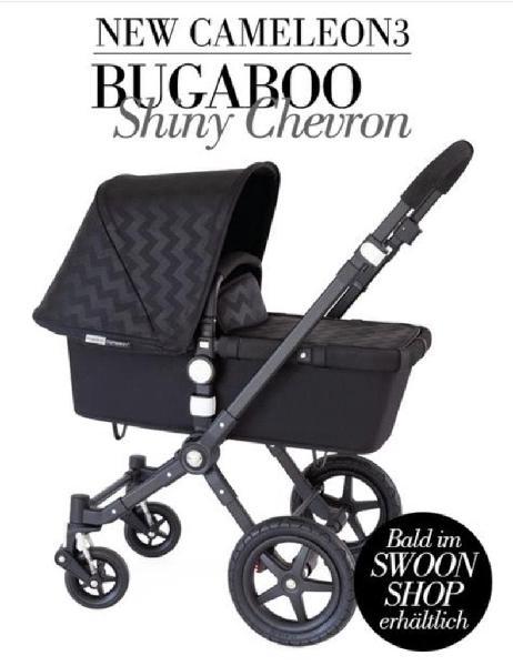 Pack/carrito bebé bugaboo edición shiny chevron