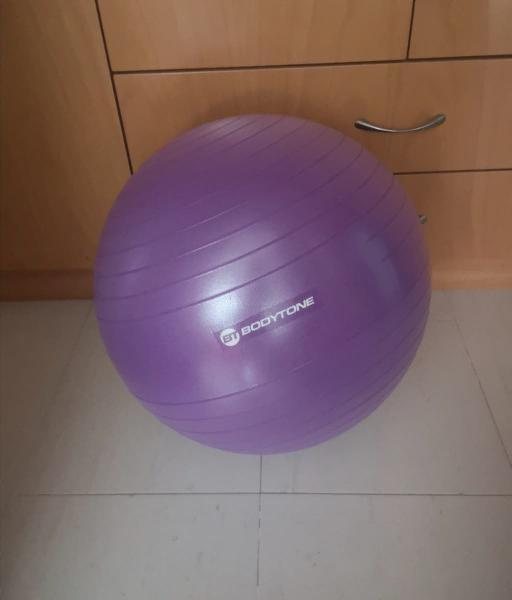 Pelota Pilates, Fitball. 55 cm. SIN USAR