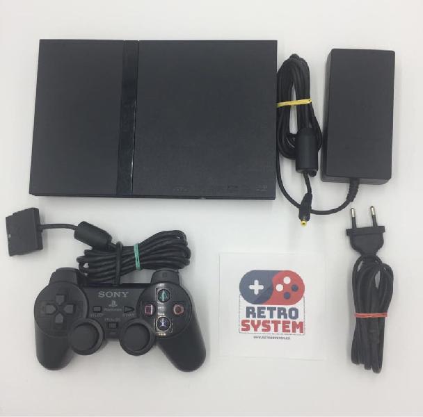 Play station 2 + mando + cables