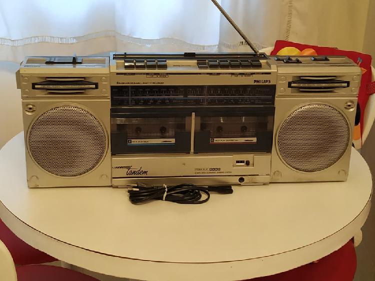 Radio cassette philips y cassettes