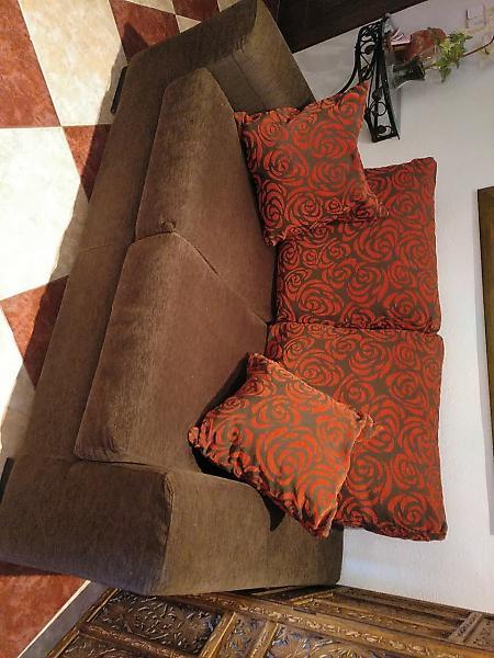 Sofa de diseño. actual y moderno