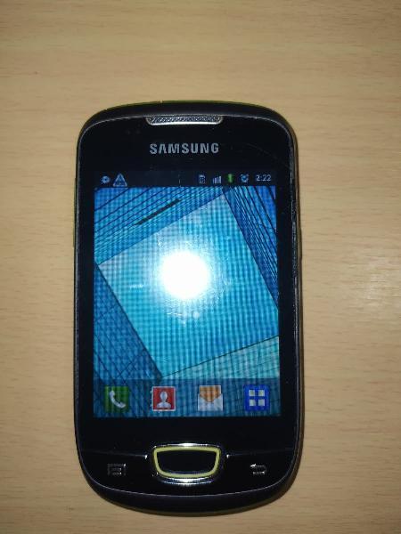 Samsung galaxy mini.