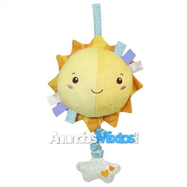 Sol de juguete musical blandito para bebés