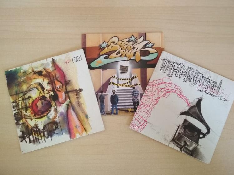 Hip hop nation y bandalona cds rap
