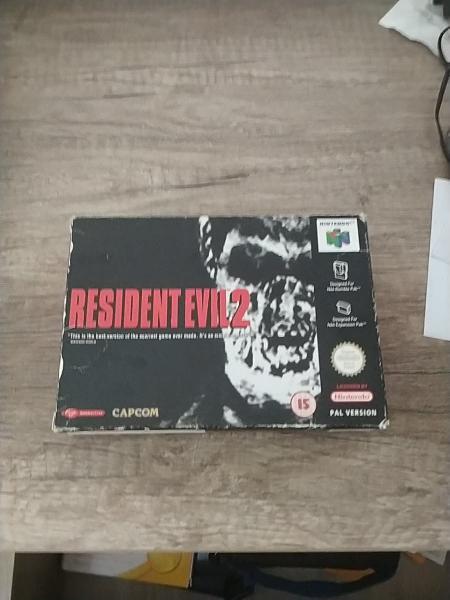 Resident evil 2 nintendo 64