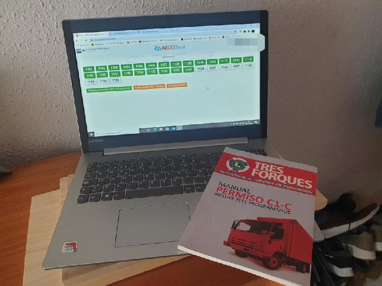 Vendo libro autoescula nuevo + plataforma carnet c