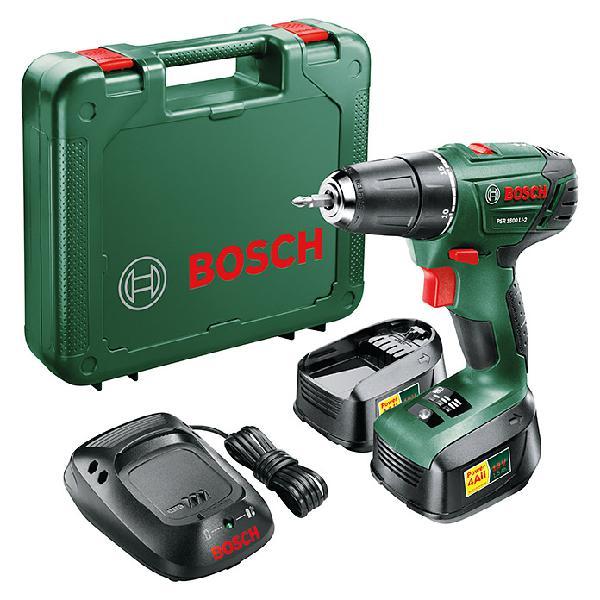 Bosch taladro atornillador de batería psr 1800 li2