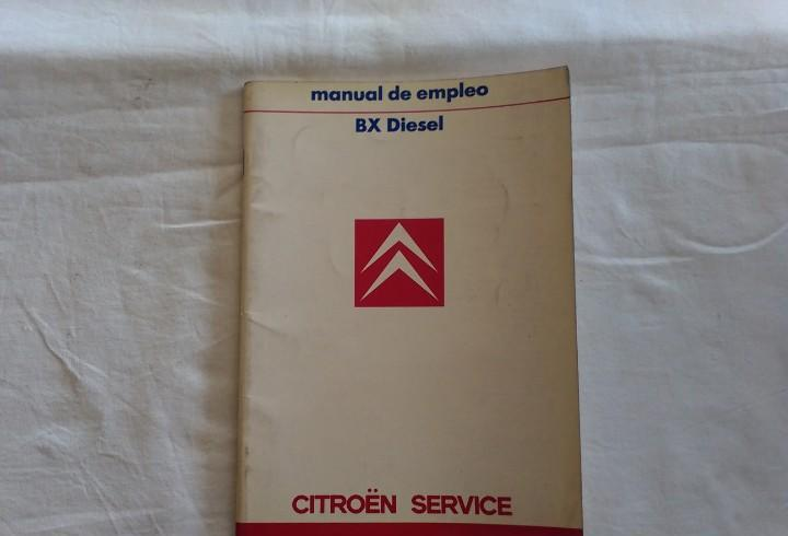 Citroen bx diesel manual de empleo