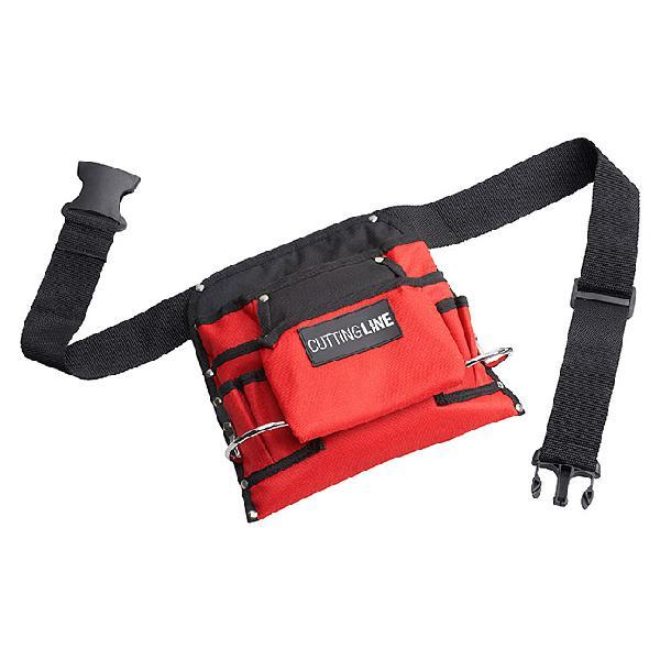 Cintur/ón de herramientas de jardiner/ía Oxford ajustable con cintur/ón de cintura para hombre//mujer bolsa de herramientas negra para el hogar RV GJB68 QEES jard/ín