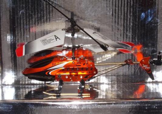 Helicóptero radiocontrol 339/metal series.