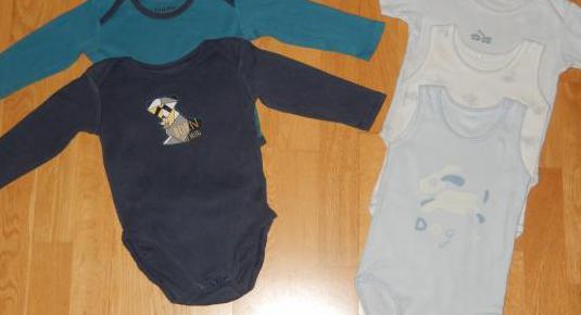 Lote bodies bebe niño niña 12 meses
