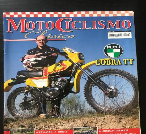 MOTOCICLISMO CLASICO Nº 79 - PUCH COBRA 75 TT TRIAL SANT