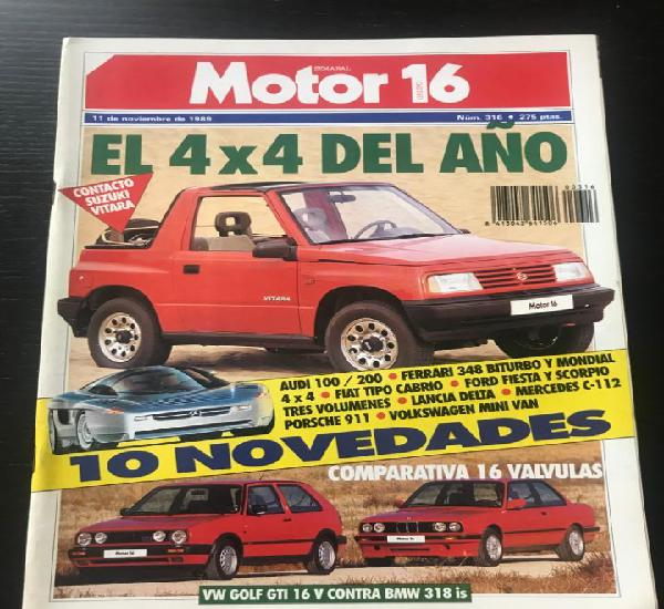 Motor 16 nº 316 - land rover discovery volkswagen golf gti