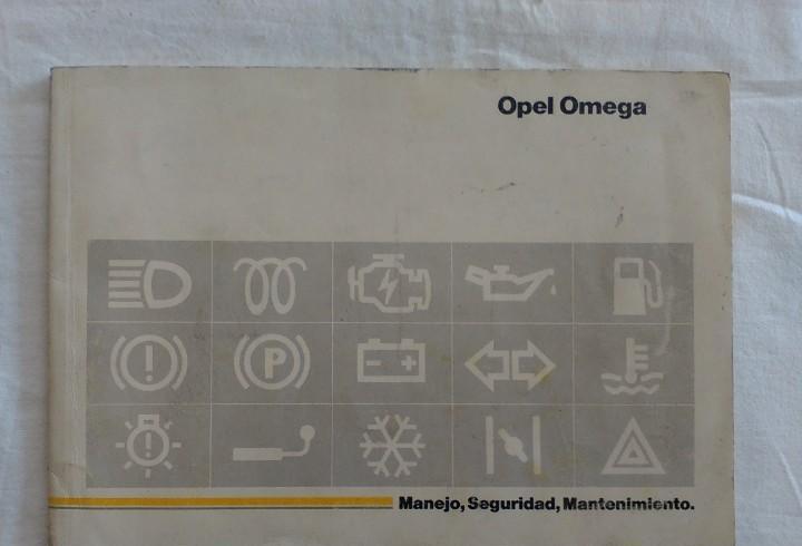 Opel omega año 1989 manual manejo y mantenimiento