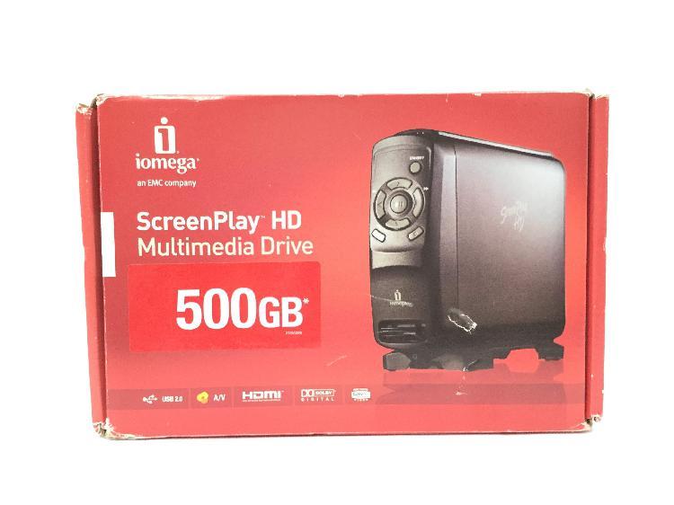 Disco duro multimedia iomega 34196