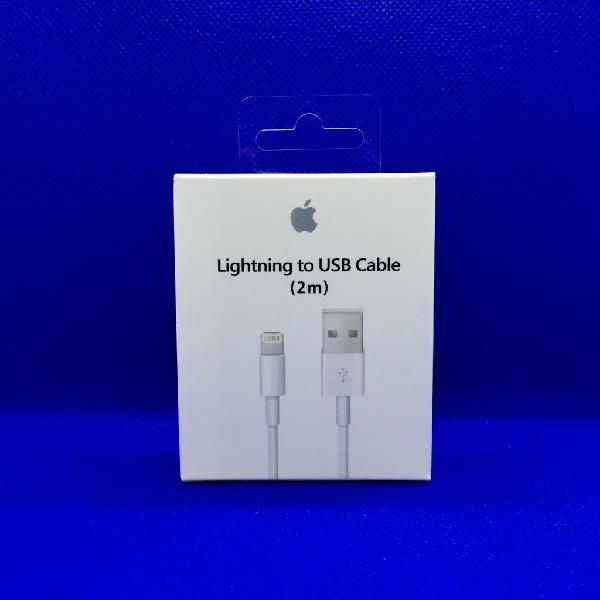 Cable cargador 2 metros apple original iphone/ipad