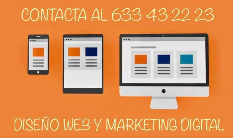 Creación página web / tienda online málaga