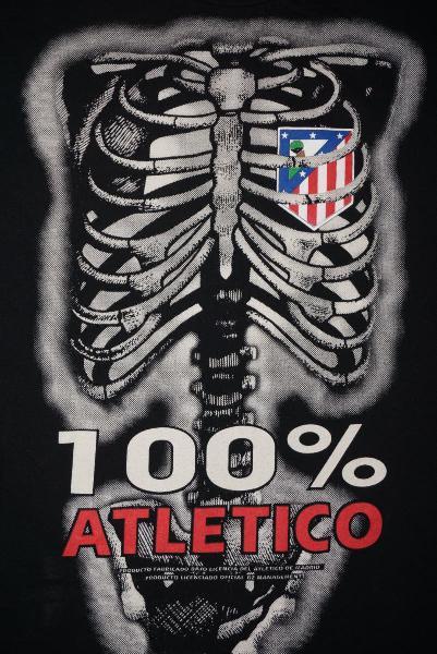 Camiseta de 100% atlético de madrid hombre m l