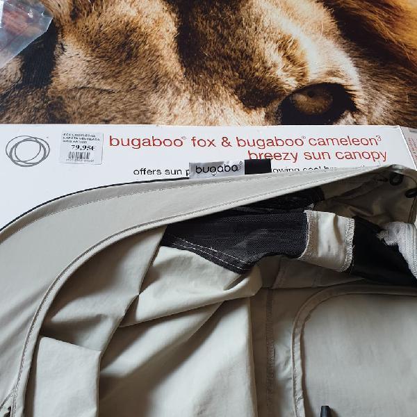 Capota ventilada bugaboo fox gris artico